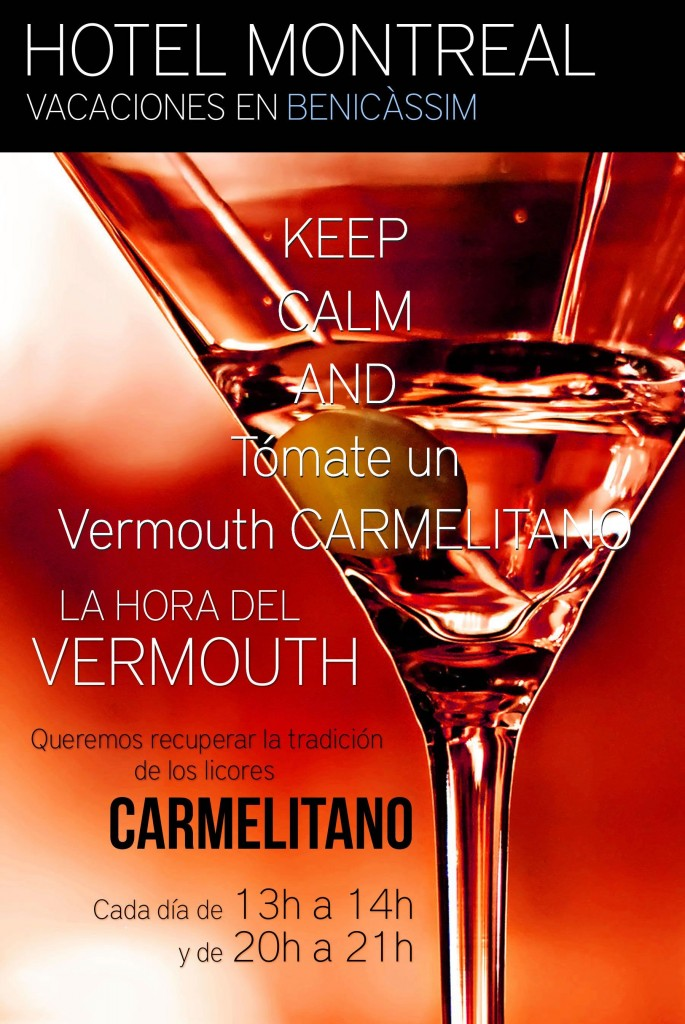 La hora del Vermouth … Carmelitano