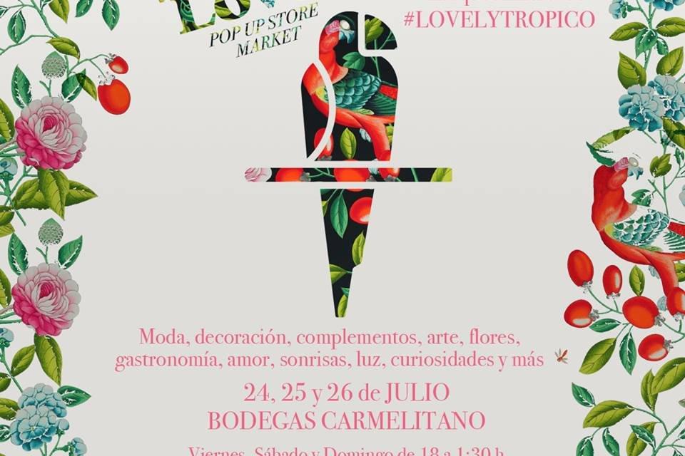 So Lovely pop up Store Market. Carmelitano 2015