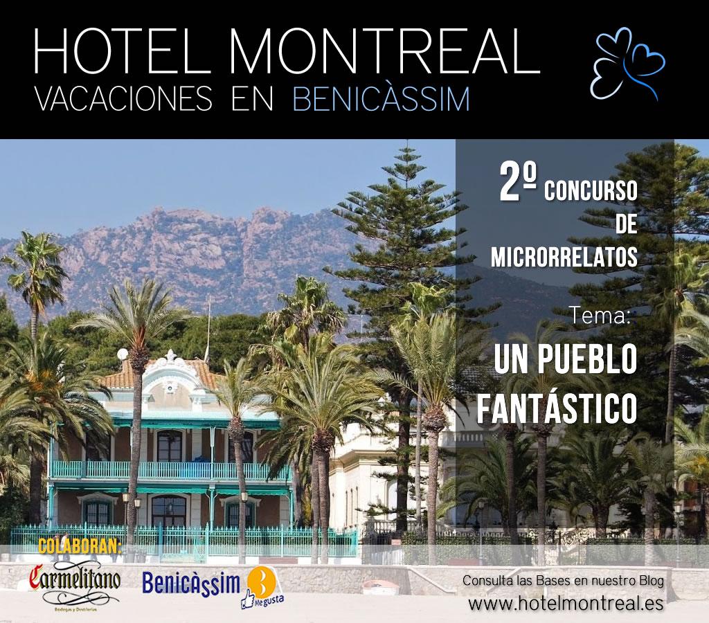Finalizado el plazo de recepción de los trabajos del II Concurso de Microrrelatos Hotel Montreal