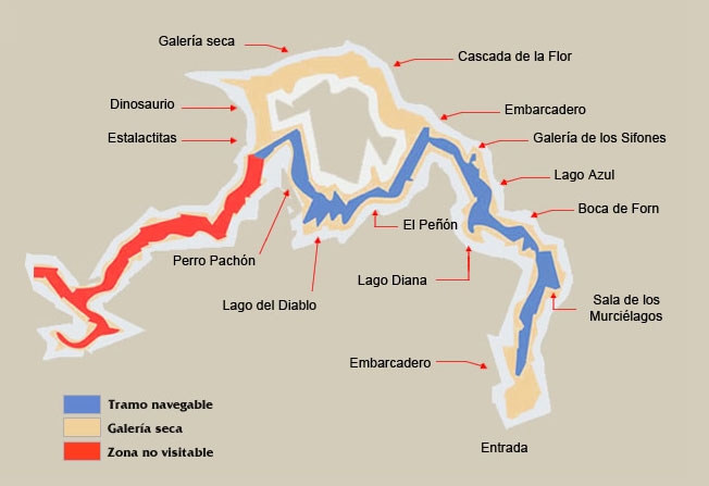 Grutas navegables de San José