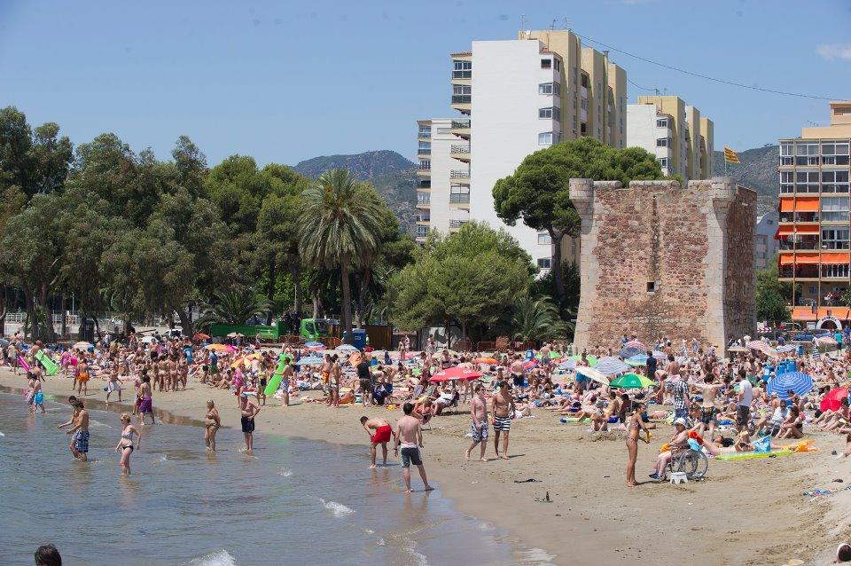 Playa Torre San Vicente Benicàssim. Castellón