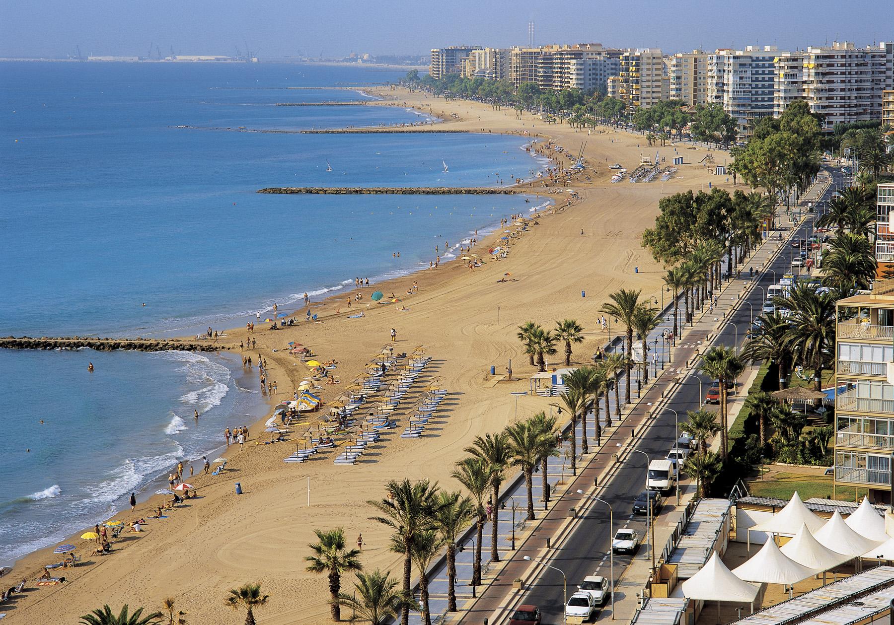 Playa Heliópolis Benicàssim. Castellón