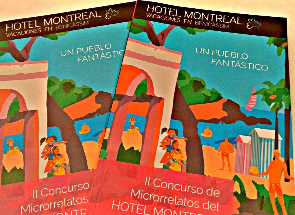 El Libro del II Concurso de Microrrelatos Hotel Montreal