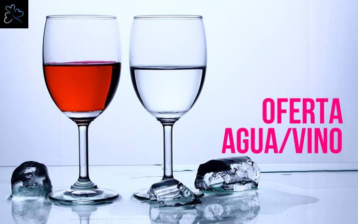 Oferta Agua Vino Incluido 2019